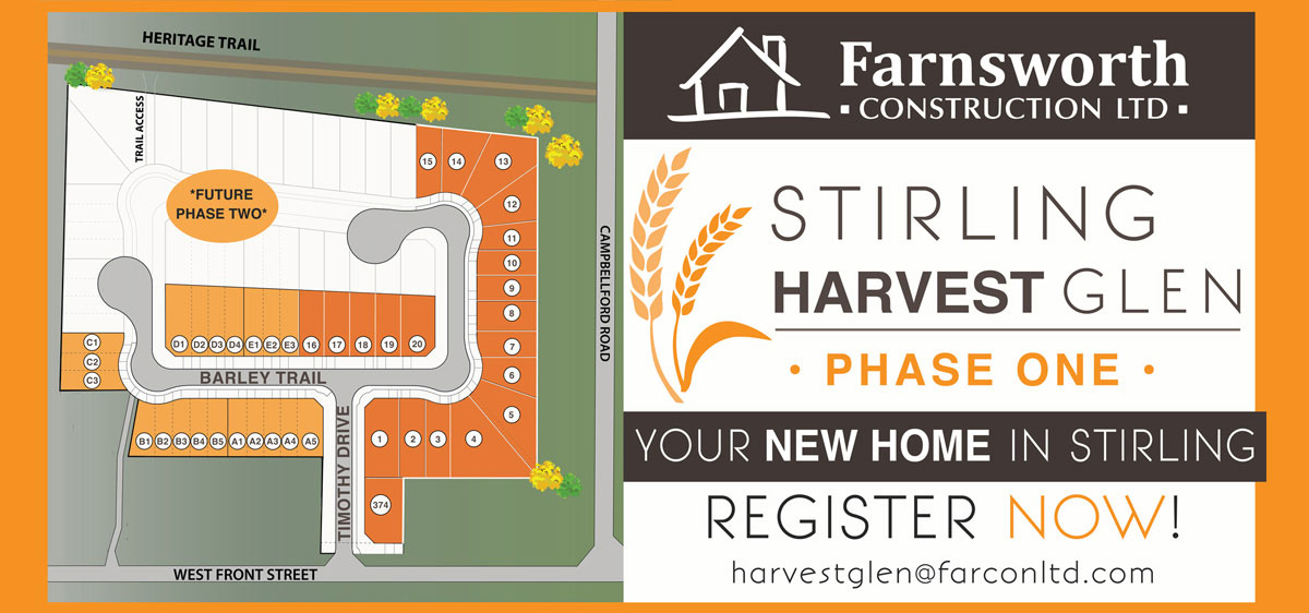 Harvest Glen site plan, Stirling